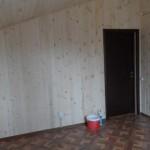 Внутренней отделки. Пол-ламинат. Стены и потолок-вагонка, покрытая бесцветным матовым лаком на водной основе