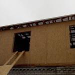 12. Накрыли крышу гидроизоляцией