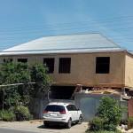 Крыша накрыта, объект готов.