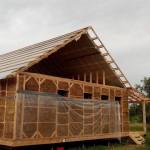 Дом и веранда готовы к приему крыши, подшивы и водосточной системы.