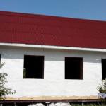 Третий слой известь строительная, для заделывания мелких трещин и обезопасить от свяких мелких насекомых.