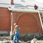 Разбираем крышу и часть веранды