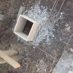 Готовим опалубку под бетонный столбчатый фундамент