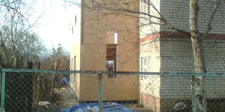 6. Стены второго этажа