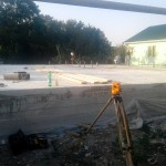 1. Фундамент и пол бетонные, уже были сделаны