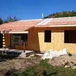 4. Монтаж конструкций крыши