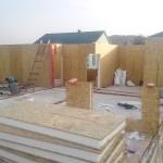 5. Монтаж стен дома