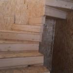 8. Сделали межэтажную лестницу из СИП-панелей