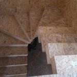 9. Лестница из СИП-панелей